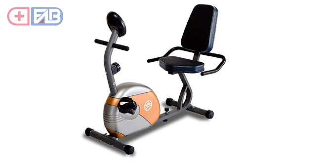 Marcy Recumbent Exercise Bike for workout