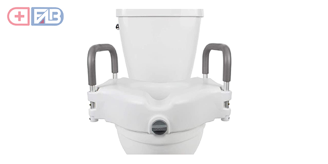 Raised Toilet Seat by Vive